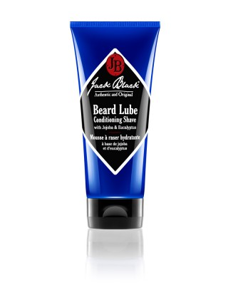 jb jack black beard lube conditioning shave blue tube