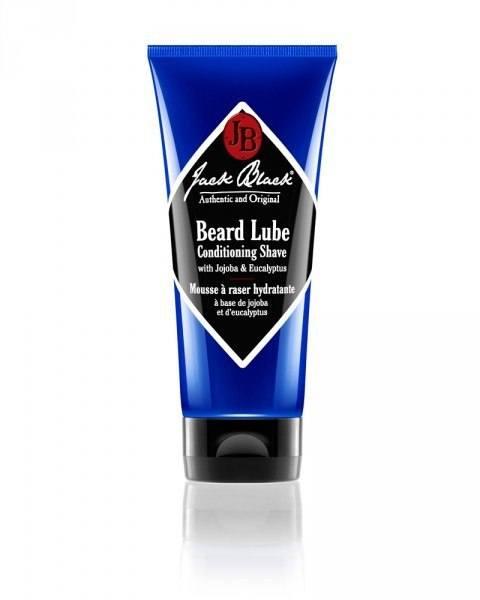 jb jack black beard lube rasiercreme blaue tube