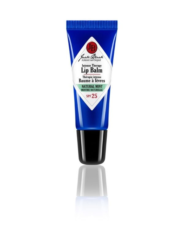 jb jack black lip balm natural mint tube