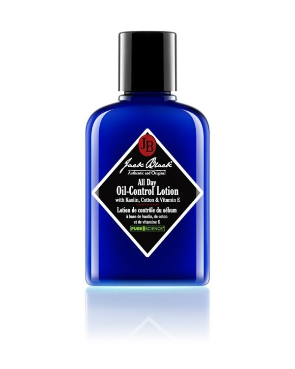jb jack black all day oil-control lotion blue bottle