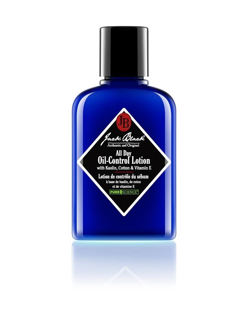 jb jack black all day oil-control lotion blaue flasche