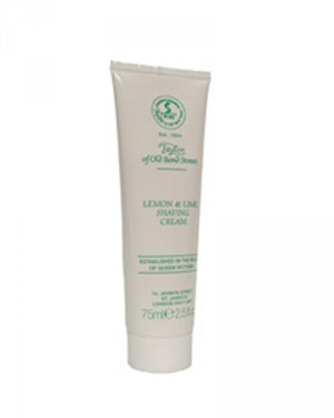 taylor of old bond street zitrone & limette rasiercreme tube 75ml
