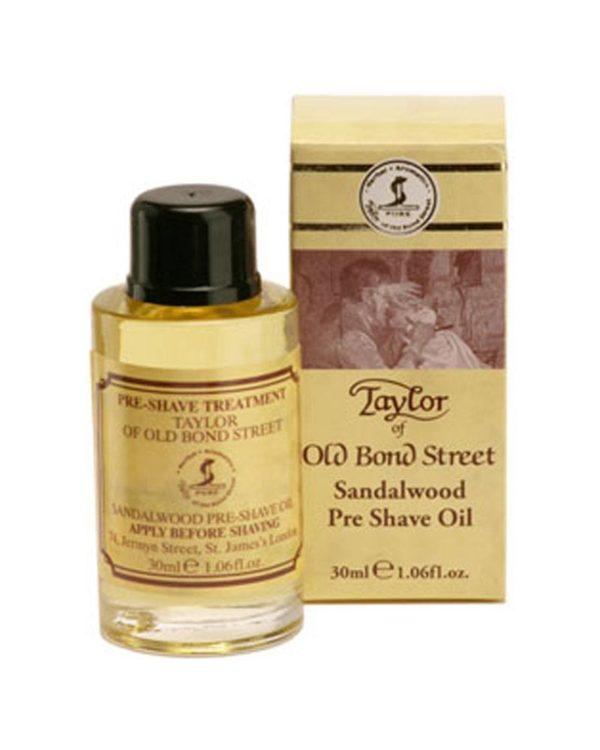 taylor sandalwood pre shave oil