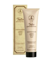 taylor sandalwood shaving cream tube