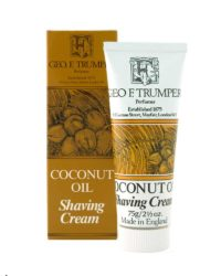 george f. trumper london coconut oil shaving cream tube