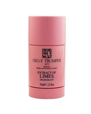 george f. trumper london deo deodorant stick 75ml limettenextrakt