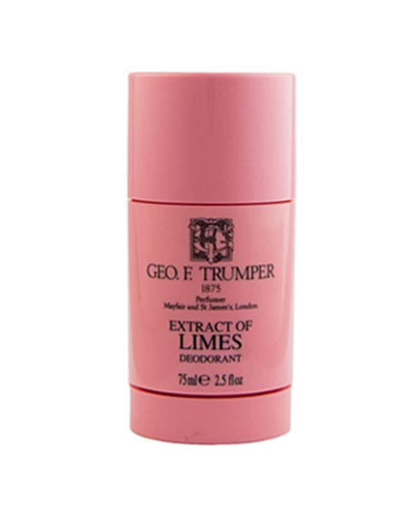 george f. trumper london deo deodorant stick 75ml limettenextrakt