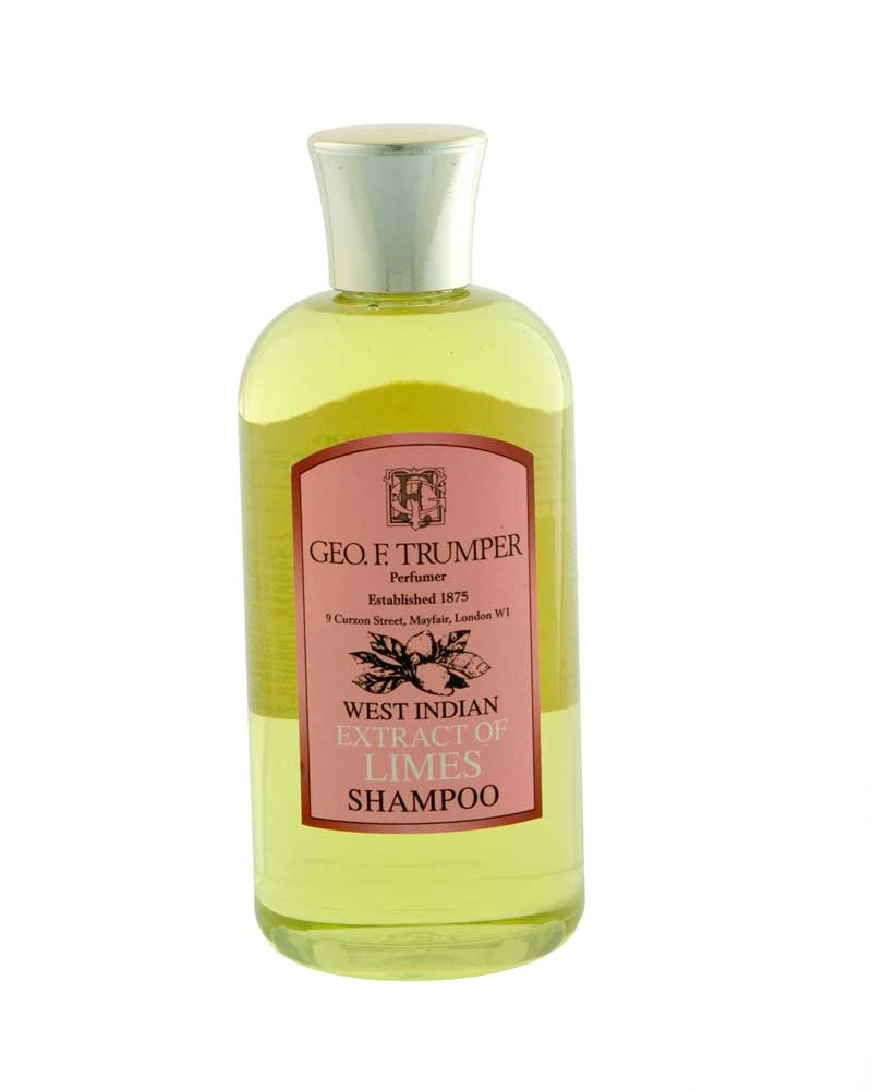 george f. trumper shampoo west indian limettenextrakt flasche