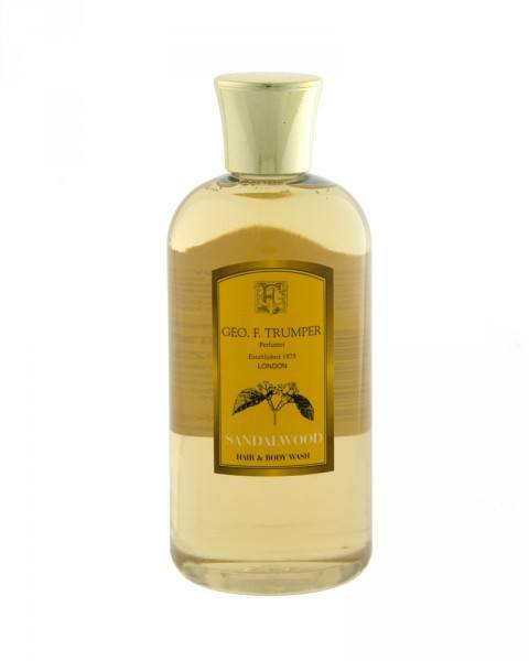 geo. f. trumper sandalwood hair and body wash