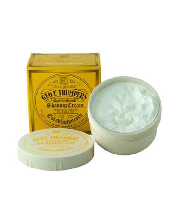 geo. f. trumpers london sandalwood shaving cream