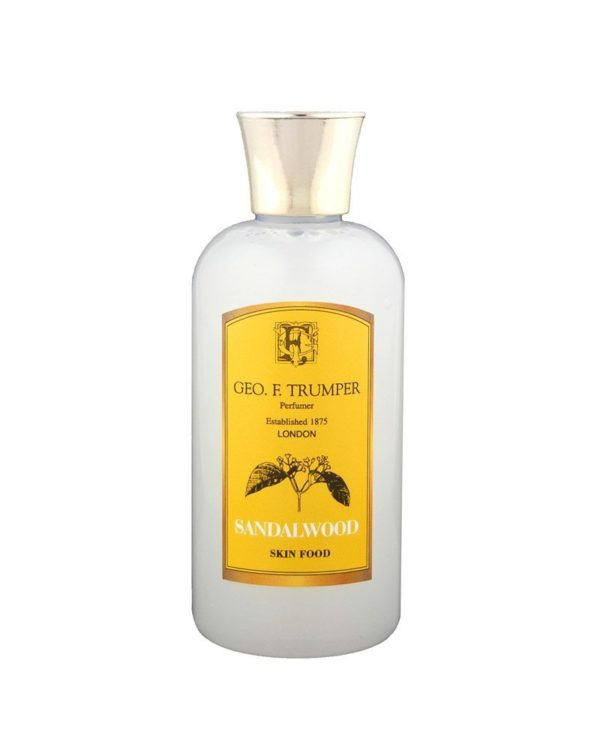 george f. trumper london sandalwood skin food