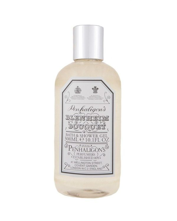 penhaligons london blenheim bouquet bath and shower gel 300ml bottle