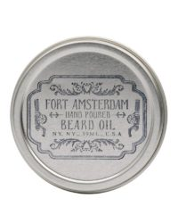 fort amsterdam beard oil