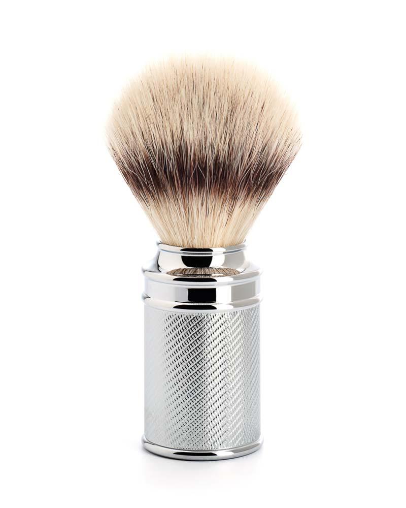 rasierpinsel silvertip fibre verchromt