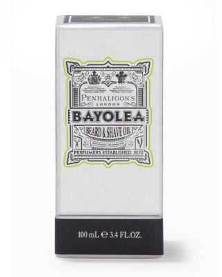 penhaligons london bayolea beard & shave oil 100ml box