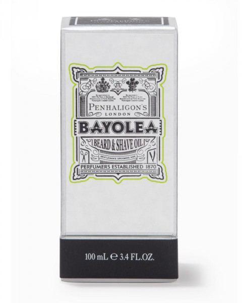penhaligons london bayolea beard & shave oil 100ml box
