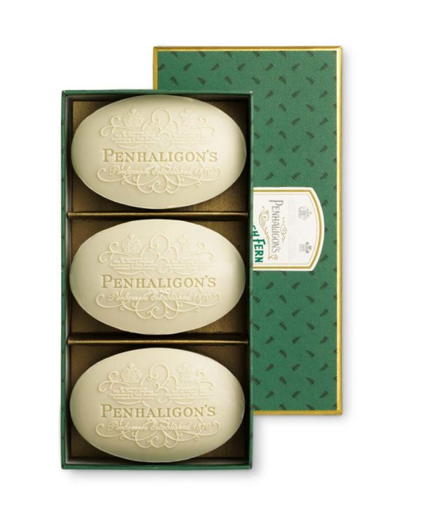 penhaligons english fern soap box of 3