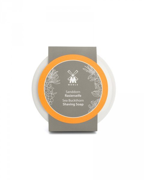 muehle sea buckthorn shaving soap