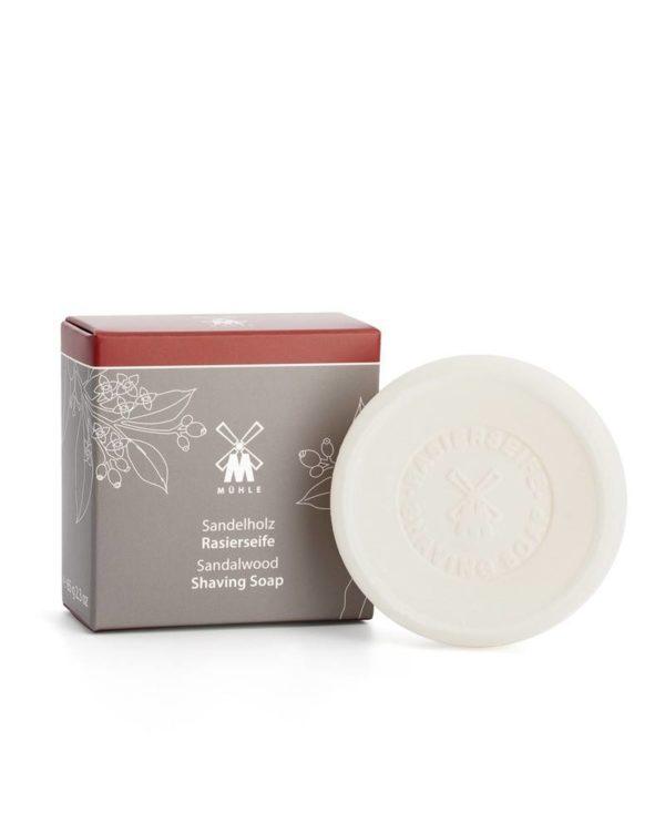 muehle sandalwood shaving soap 65g