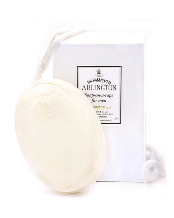 d.r. harris london arlington soap on a rope