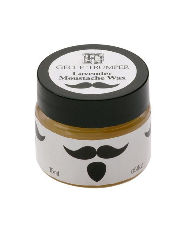 george f. trumper london moustache wax 15ml container