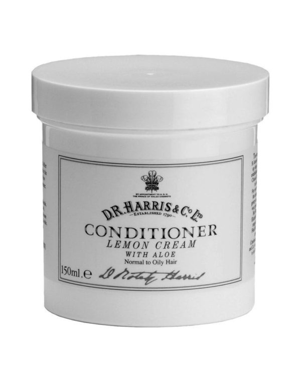 d.r. harris london conditioner lemon cream 150ml bowl
