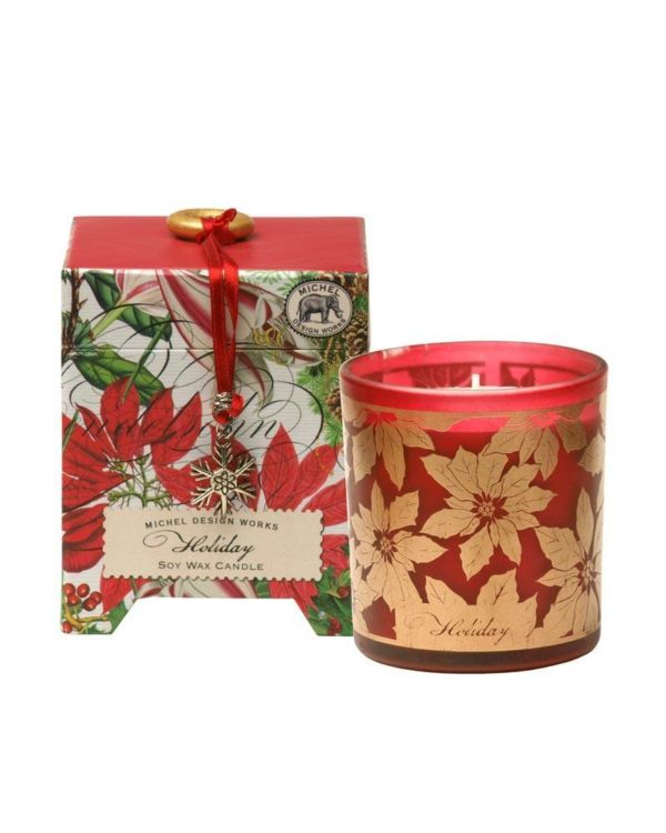 michel design works holiday soy wax candle