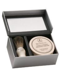 taylor pure bager & sandalwood shave cream gift box