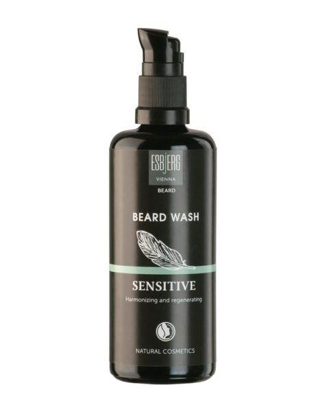 esbjerg vienna beard wash sensitive bottle