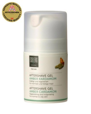 Aftershave Gel Amber Kardamom