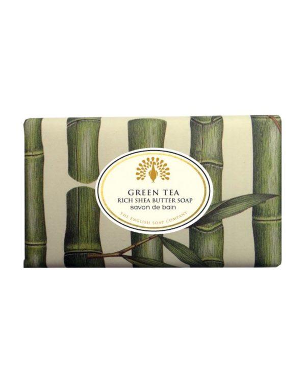the english soap company green tea bath soap