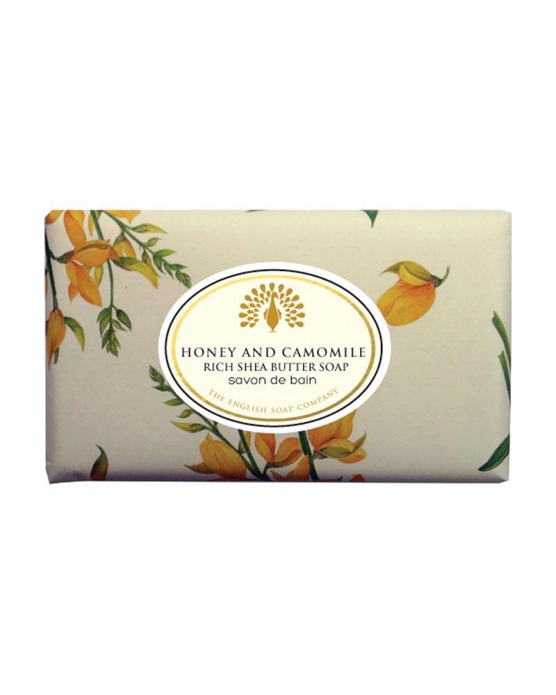 english soap company honey camomile rich shea butter soap