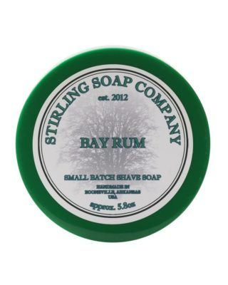 stirling soap company bay rum rasierseife