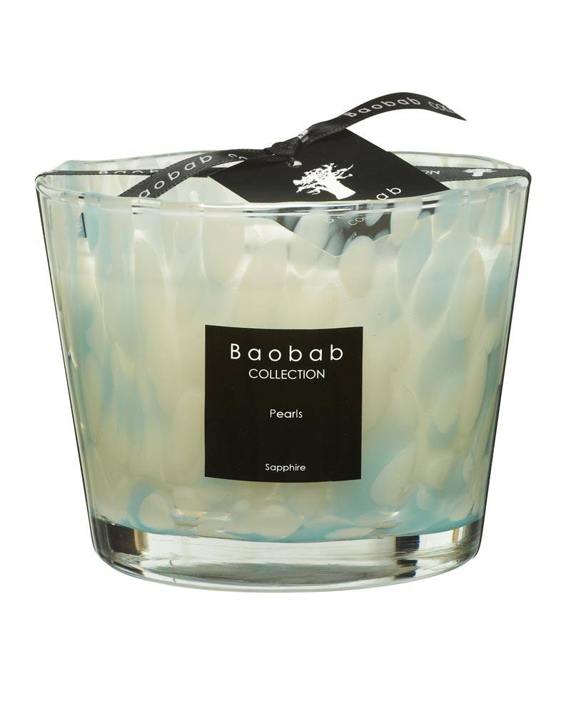 baobab collection pearls saphire candle max10 esbjerg. Black Bedroom Furniture Sets. Home Design Ideas