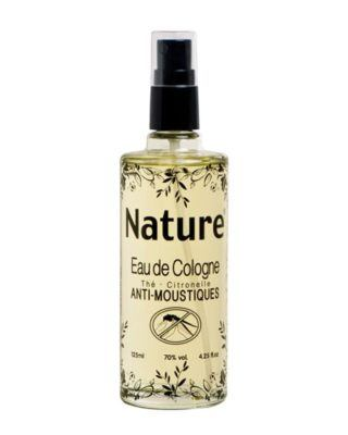 nature anti-moustique cologne tea lemon balm anti-mosquitos 125ml