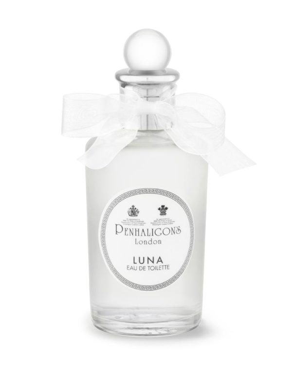 penhaligons london luna eau de toilette bottle white