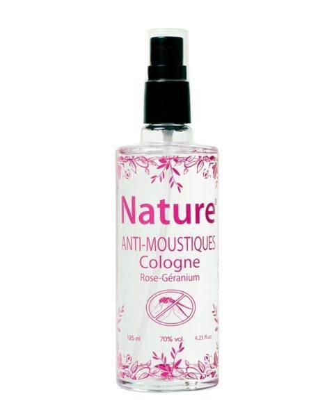 nature anti-moustique cologne rose geranium anti-muecken 125ml