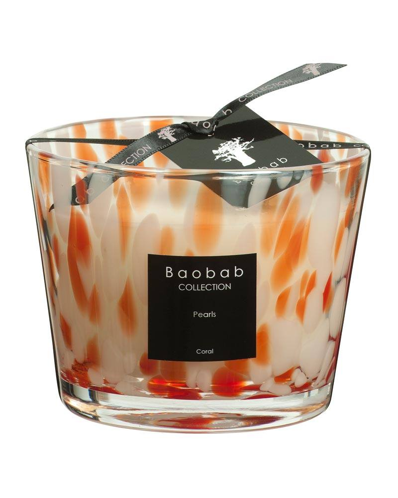 baobab collection coral pearls candle max10 esbjerg. Black Bedroom Furniture Sets. Home Design Ideas