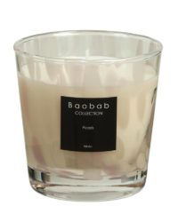 baobab kollektion white pearls kerze