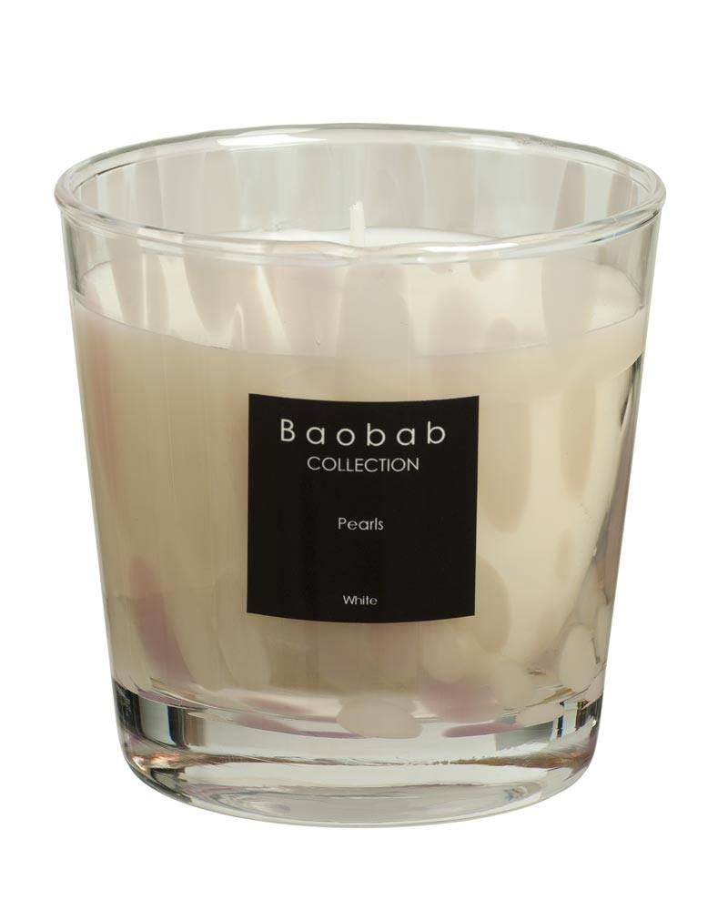 baobab collection white pearls candle maxone esbjerg. Black Bedroom Furniture Sets. Home Design Ideas