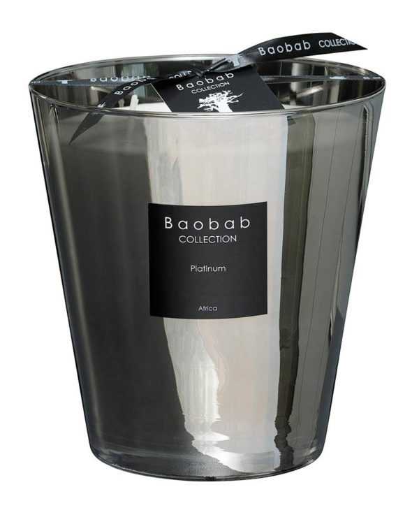 baobab collection platinum candle