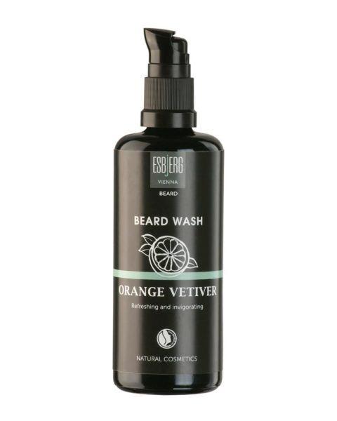 esbjerg vienna beard wash orange vetiver