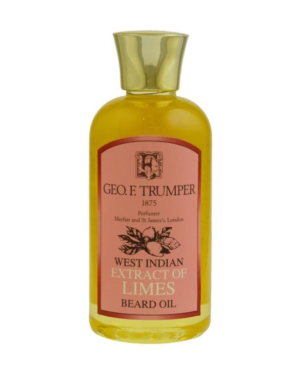 eorge f. trumper london west indian extract of limes beard oil