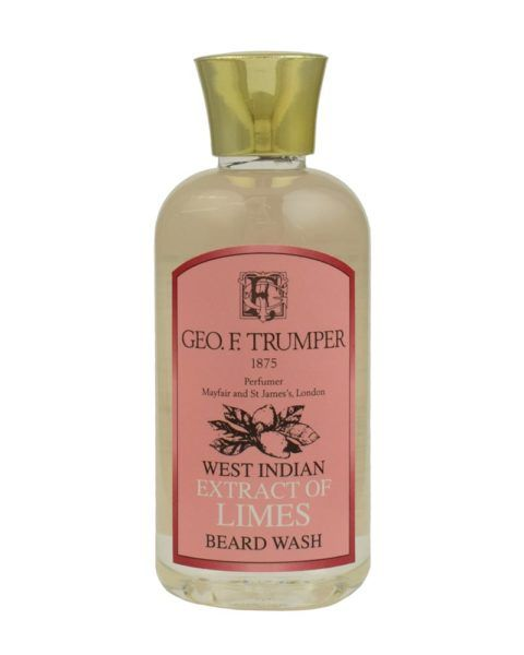 eorge f. trumper london west indian extract of limes beard wash