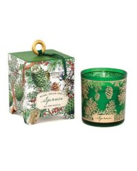 michel design works spruce soy wax candle