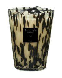 baobab kollektion pearls black kerze