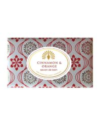 the english soap company cinnamon & orange bath soap