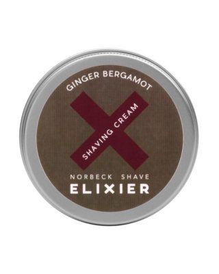 norbeck ginger bergamot shaving cream