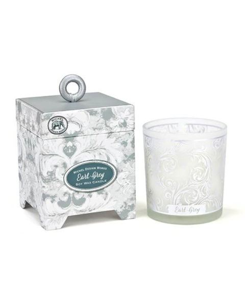 michel design works earl grey soy wax candle