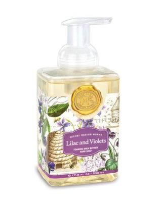 esbjerg michel design lilac violets seife